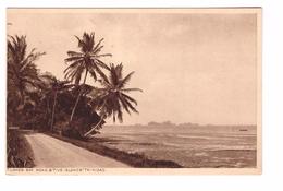 Trinidad Tucker Bay Road & Five Islands Cpa Carte Non Voyagée - Trinidad