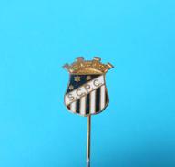 SC PENALVA Do CASTELO - Portugal Football Soccer Club Old Enamel Pin Badge Fussball Futebol Clube Calcio Anstecknadel - Football
