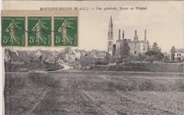 49 -  MARTIGNÉ BRIAUD  Vue Générale, Route De Thigné - France