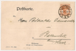 COTTBUS POSTKARTE . 1917. - Germany