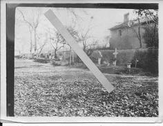 Cimetière Allemand Deutsch Soldaten Friedhof Meuse? 1 Photo D'un Album D'aviateur Bavarois 1914-1918 14-18 Ww1 - War, Military