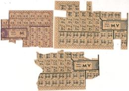 TICKETS D'ALIMENTATION 1948. Tit. 4162 Et 4038. M Et MV. - Documents Historiques
