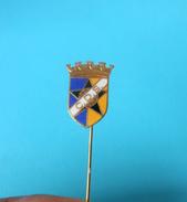 CD SALVATERRENSE -  Portugal Football Soccer Club Old Enamel Pin Badge Fussball Futebol Clube Calcio Anstecknadel - Football