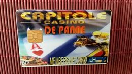 Casino Card Belgium De Panne  Rare - Cartes De Casino