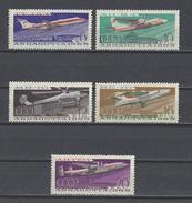 RUSSIE . YT PA 118/122 Neuf ** Avions Survolant Les Aéroports De Moscou 1965