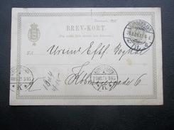 Danmark: 1905 Postal Card To (?) (#GP3)