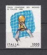 1982 - ITALIA / ITALY - ITALIA CAMPIONE DEL MONDO DI CALCIO - FOOTBALL ITALY WORLD´S CHAMPION. MNH - 6. 1946-.. Repubblica
