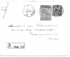 Ninove 26 Nov 1949 Aangetekende Brief Met Nrs 768 En 771 - 1948 Exportation