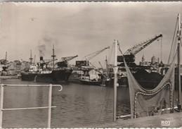 CPSM GM Dép 50 Granville Le Port De Commerce Circulée 1956 - Granville