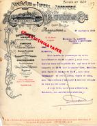 16 - ANGOULEME - FACTURE MANUFACTURE PAPIERS PAPETERIE IMPRIMERIE-DUPUY -USNE BEL AIR- 1910 M. LAROCHE A MOUTHIERS - Stationeries (flat Articles)