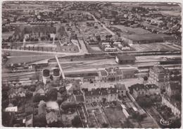 Yvelines : CONFLANS  Saint  HONORINE  : Vue Aérienne , La  Gare - Conflans Saint Honorine