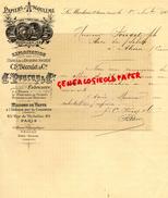 16 - LE MARCHAIS SAINT SEVERIN- FACTURE PAPIERS D' ANGOULEME- PAPETERIE IMPRIMERIE- CH.BECOULET- PROCOP - 1902 - Stationeries (flat Articles)