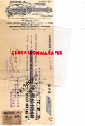 16 - ANGOULEME- TRAITE PAPETERIE IMPRIMERIE DUPUY-USINE BEL AIR- 1910 MANUFACTURE PAPIERS - Stationeries (flat Articles)