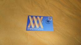 CARTE 30e ANNIVERSAIRE NUMISMATIQUE FRANCAISE DE 1992. / CACHET PHILATELIE 60 GOUVIEUX + TIMBRE. - Sonstige