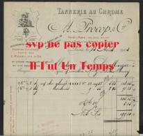 75 PARIS - A. PROCOP & CIE - Tannerie Au Chrome - 1903 - France