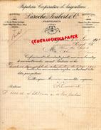16 - ANGOULEME- LESCALIER- FACTURE  PAPETERIE IMPRIMERIE COOPERATIVE- LAROCHE JOUBERT- 1902  FABRICANTS PAPIERS - Stationeries (flat Articles)