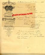 16 -LE MARCHAIS SAINT SEVERIN-  - FACTURE  PAPETERIE IMPRIMERIE PAPIERS D' ANGOULEME- CH.BECOULET- PROCOP- 1901 - Stationeries (flat Articles)