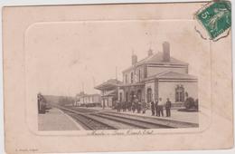 Yvelines :  MAULE :  La  Gare   Ouest  Etat - Maule