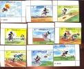 ANGUILLA   559-67 MINT NEVER HINGED SET OF STAMPS OF OLYMPICS , LOS ANGELES 1984 DISNEY   #  S-006   ( - Disney