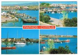 RB 1146 -  2 X 1980's Postcards - Paphos Cyprus - Cyprus