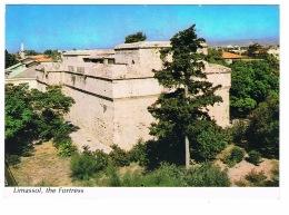 RB 1146 -  1989 Postcard - The Fortress Limassol Cyprus - Limassol Postmark - Cyprus
