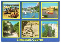 RB 1146 -  1992 Postcard - Limassol Cyprus - Limassol Postmark - Cyprus