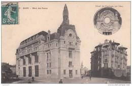 Cp , 21 , DIJON , Hôtel Des Postes - Dijon