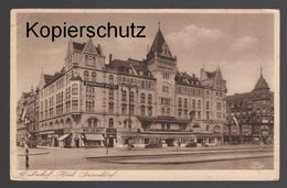 ALTE POSTKARTE BAHNHOF-HOTEL DÜSSELDORF Wolsdorff Postcard Cpa AK Ansichtskarte - Duesseldorf