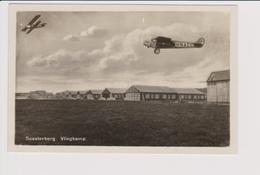 Vintage Rppc Fokker F-VII H-NACC KLM, K.L.M. @ Vliegkamp Soesterberg - 1919-1938: Between Wars