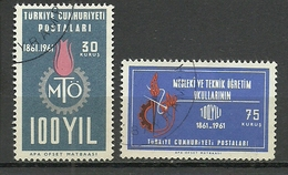 Turkey; 1961 100th Year Of The Technical And Professional Schools - 1921-... República