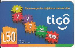 HONDURAS - *777, Tigo Prepaid Card L.50, Exp.date 06/06, Used - Honduras