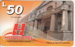 HONDURAS - Palacio De Telecomunicaciones, Hondutel Prepaid Card L50, Exp.date 30/12/12, Used - Honduras