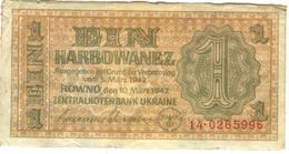 Ukraine 1 Karbowanec 1942 - Ukraine