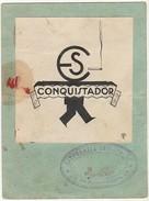 (12x9cm)Draftsmanship * Desenho * Esboço * Mortalhas Conquistador * Litografia Invicta * Porto * Portugal * Signed By MS - Autres