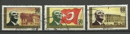 Turkey; 1963 40th Anniv. Of The Turkish Republic - 1921-... República