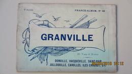 GRANVILLE / 20 VUES / DESSINS D'APRES. PHOTOS AVANT-GUERRE / FRANCE - ALBUM N° 49. - Dépliants Touristiques