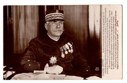 MILITARIA . Portrait Du Général JOFFRE - Réf. N°1774 - - Personnages