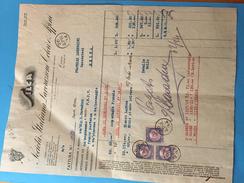 26-4-1934-COMO-DITTA SILCA-LAVORAZIONE COLORI-MARCA X SCAMBI COMMERCIALI - Fiscali