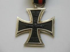 Magnifique Médaille  CROIX DE FER  1813-1914 - 2 Eme Classe WW1  **** EN ACHAT IMMEDIAT **** - Duitsland