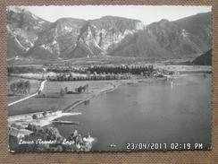 LEVICO - IL LAGO  - TRENTO -  1957    -BELLA - Italia