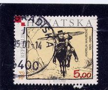 CROATIA 2001  USED # 447, COMIC STRIP BLACK RIDER  USED - Croatie