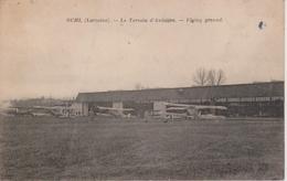 57 - BUHL - TERRAIN D'AVIATION - AVIONS - France