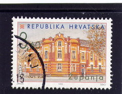 CROATIA 1995  USED # 266,   CROATIAN TOWN: ZUPANJA   USED - Croatie