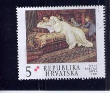 CROATIA 2002  USED # 487,   DIVAN  By VLAHO BUKOVAC - Croatie