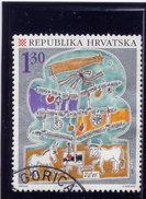 CROATIA 1995   USED # 273,   CHRISTMAS  USED - Croatie