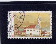 CROATIA 1995   USED # 279,   LIBERATED TOWN: GLINA   Used - Croatie