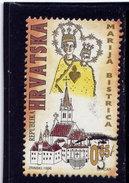 CROATIA 1996   USED # RA68   Virgine Mary Of Bistrica  Sanctuary Used - Croatie