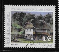 CROATIA 1997   USED # RA82  HOUSE Of DR ANTE STARCEVIC    USED - Croatie