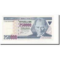 Turquie, 250,000 Lira, 1998, KM:211, SPL - Turquie