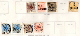 Armoiries, Entre 1 Et 4, Cote 301 E - 1850-1918 Imperium